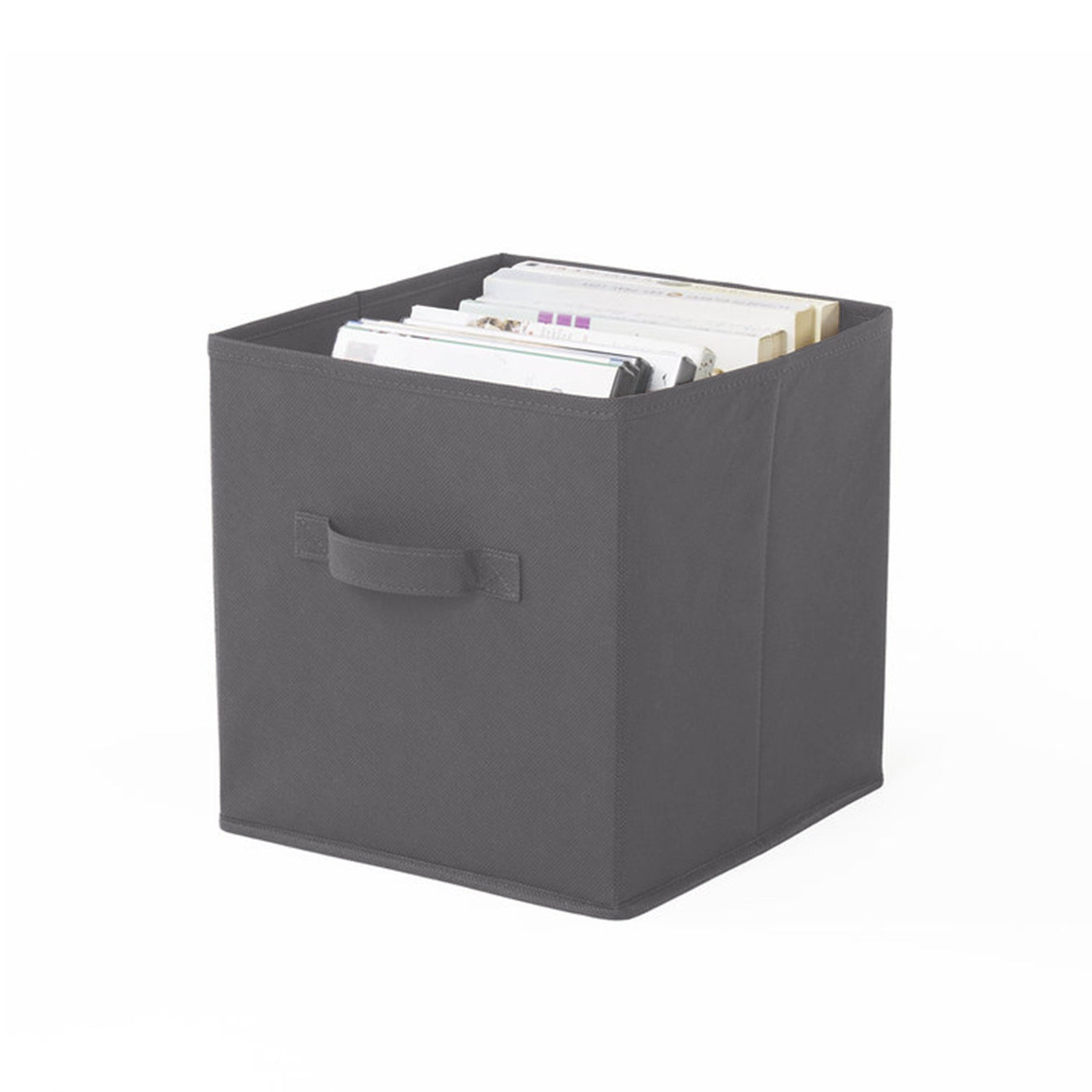 Fabric Storage Cube with Handles - Style 8201