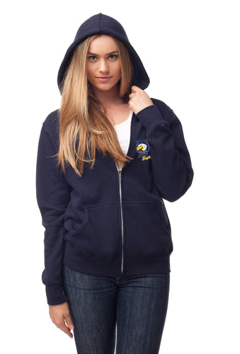 Special Blend Zip Up Hoody - GLITTER chest logo