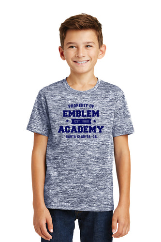 Property of Emblem Academy - Electric Navy