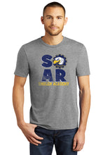 Load image into Gallery viewer, SOAR - Heather Triblend t-shirt