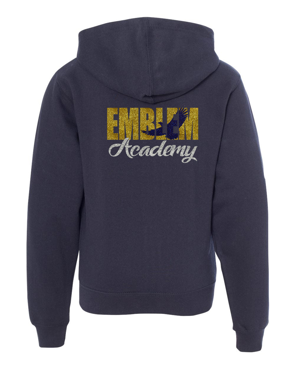 Glittered Out Zip Up Hoody