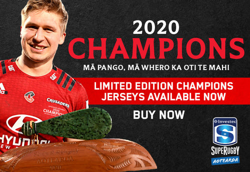 Crusaders Home Jersey 2020 Champions Edition