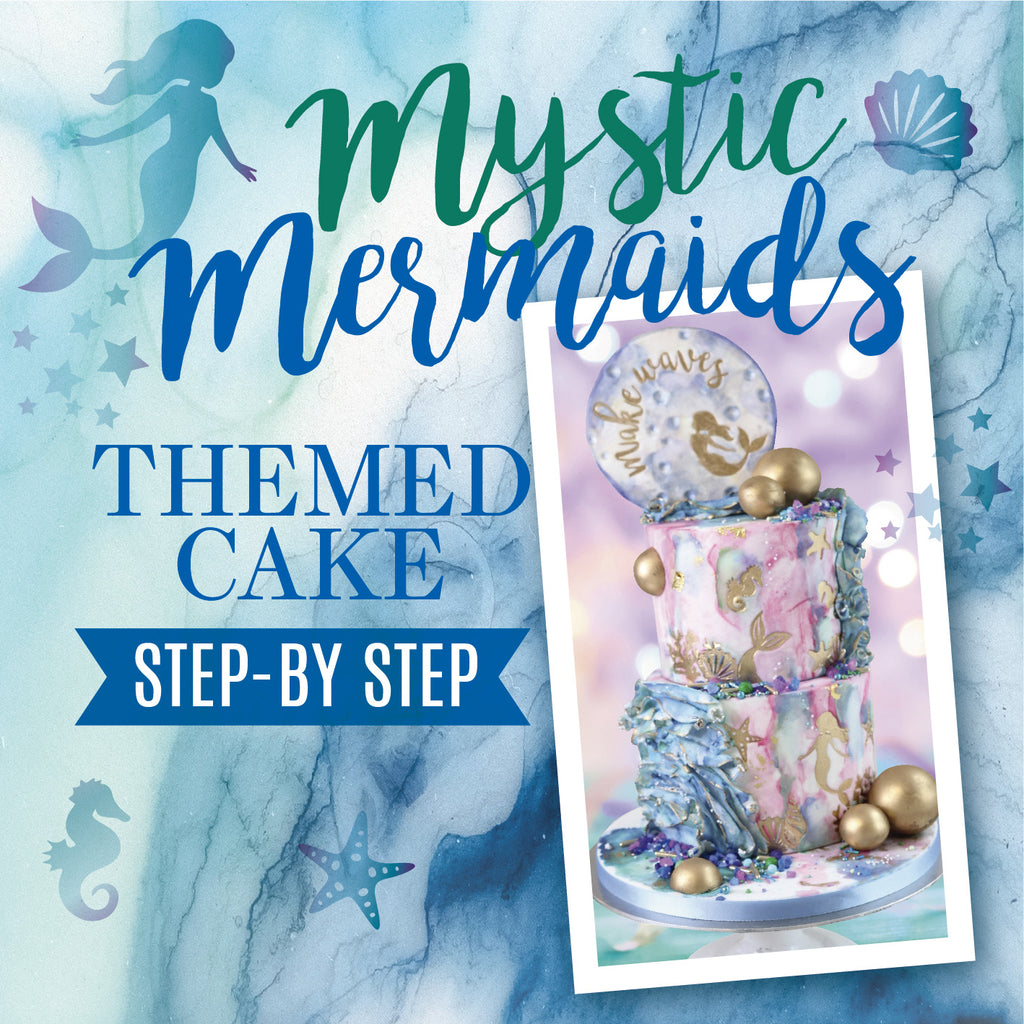 Mystic Mermaids - By My enticing Icing