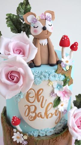 Oh Baby Wonderland Cake by The Cake Cuppery
