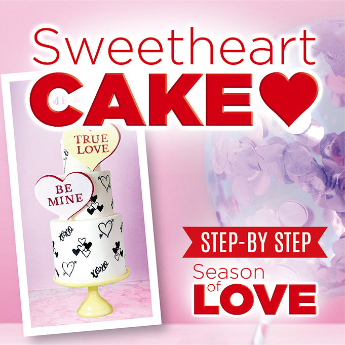 Sweetheart Cake Tutorial