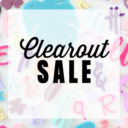 Clearout Sale
