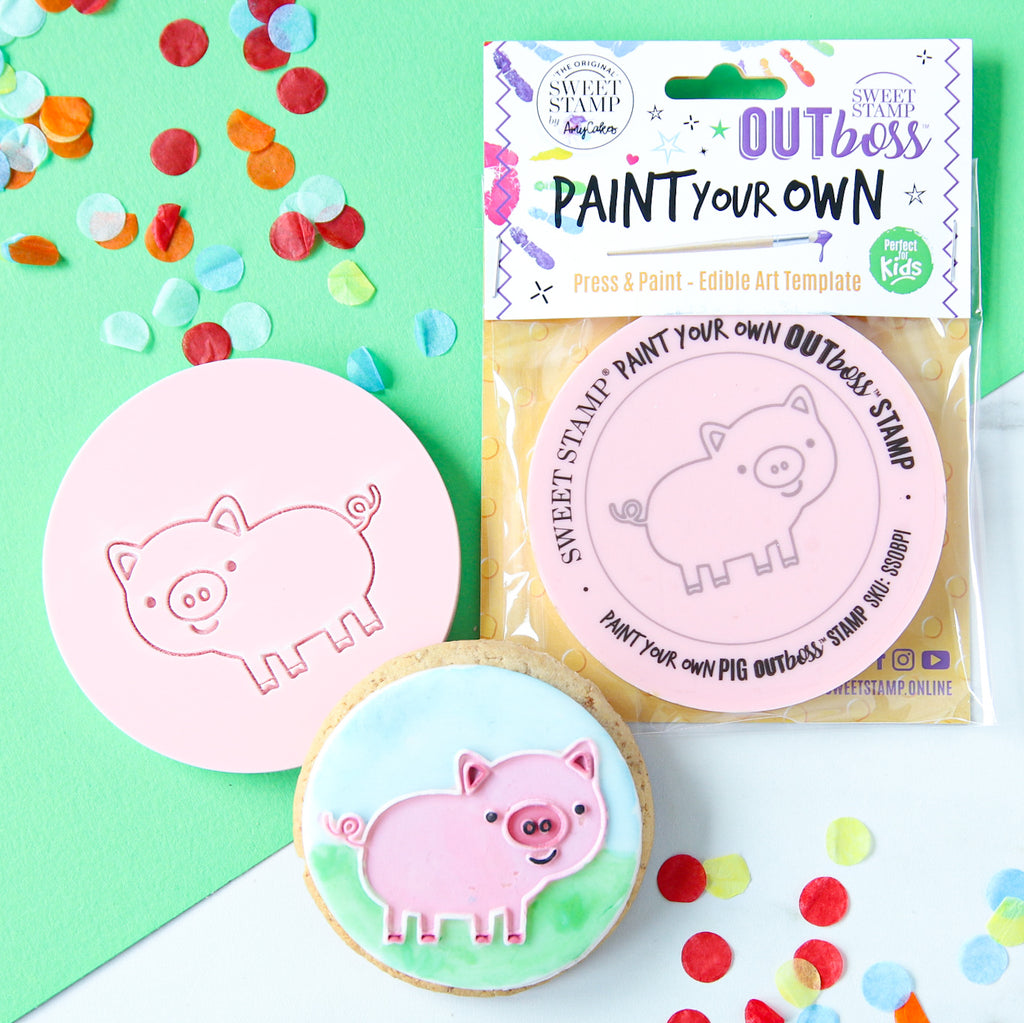 OUTboss™ Paint Your Own - Pig