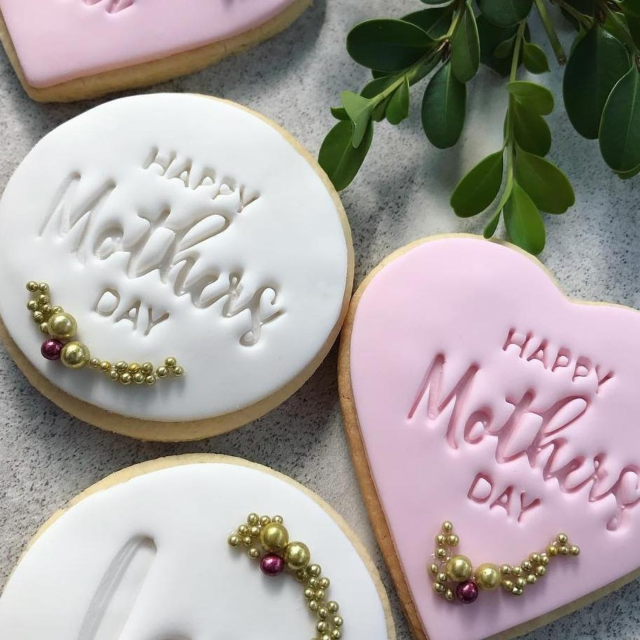Happy Mother's Day- Cookie/Cupcake Embosser