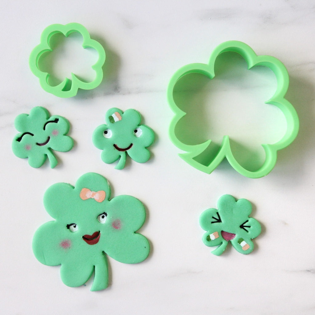 Shamrock Clover Cutter Set