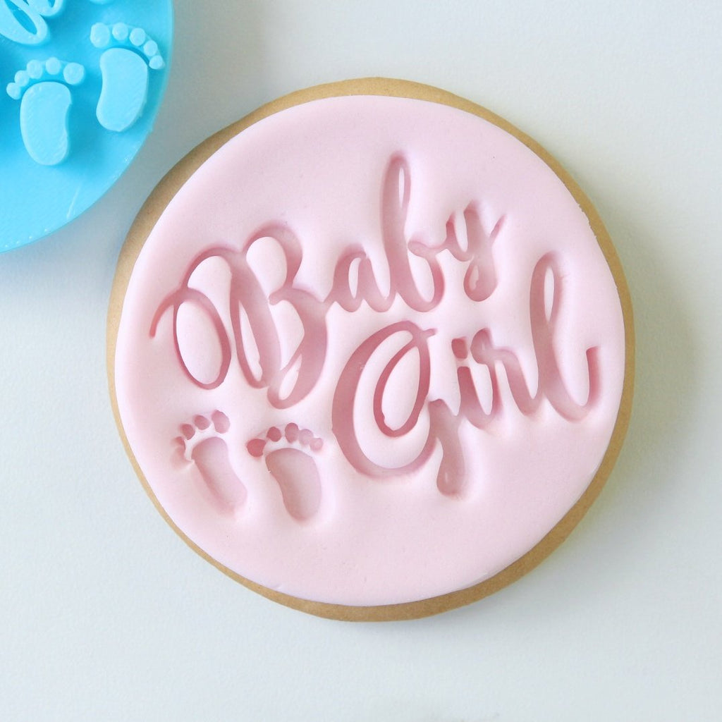 Baby Girl - Cookie/Cupcake Embosser