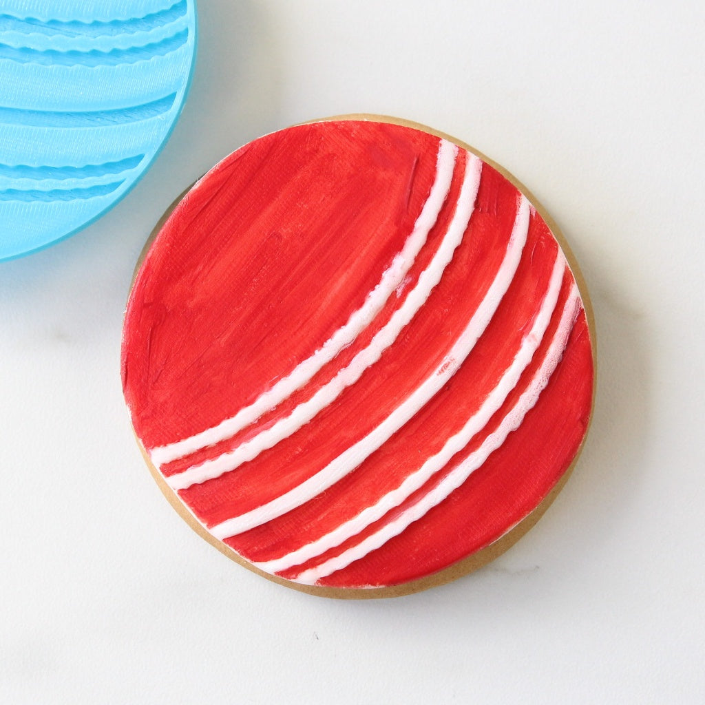 Cricket ball- Cookie/Cupcake Embosser