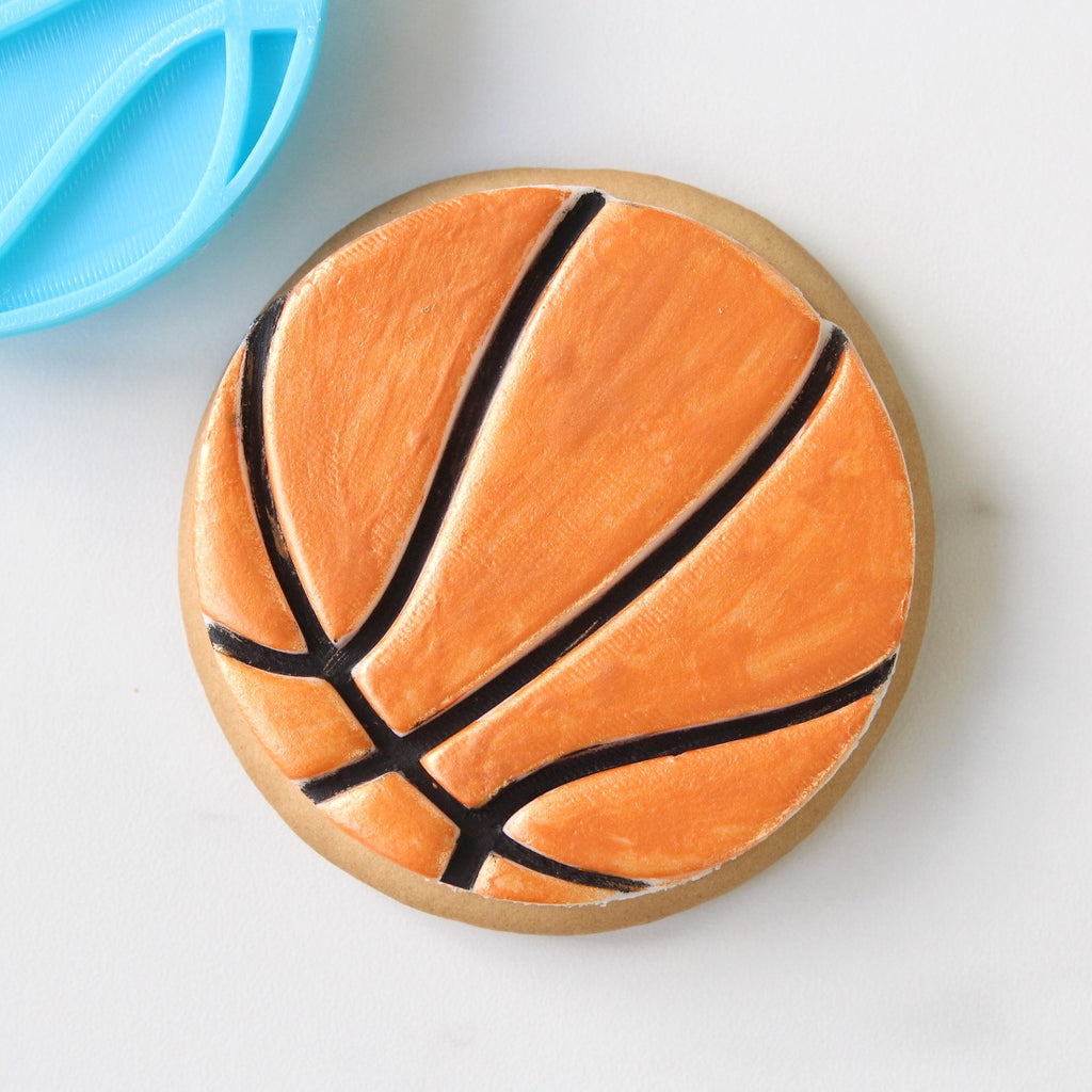Basketball - Cookie/Cupcake Embosser