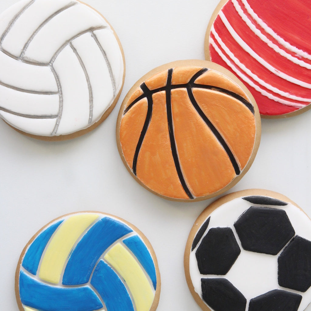 Soccer Football - Cookie/Cupcake Embosser