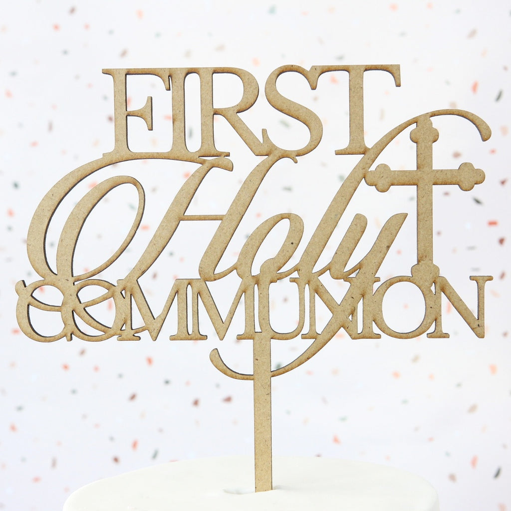 Communion Topper - Wood - Large
