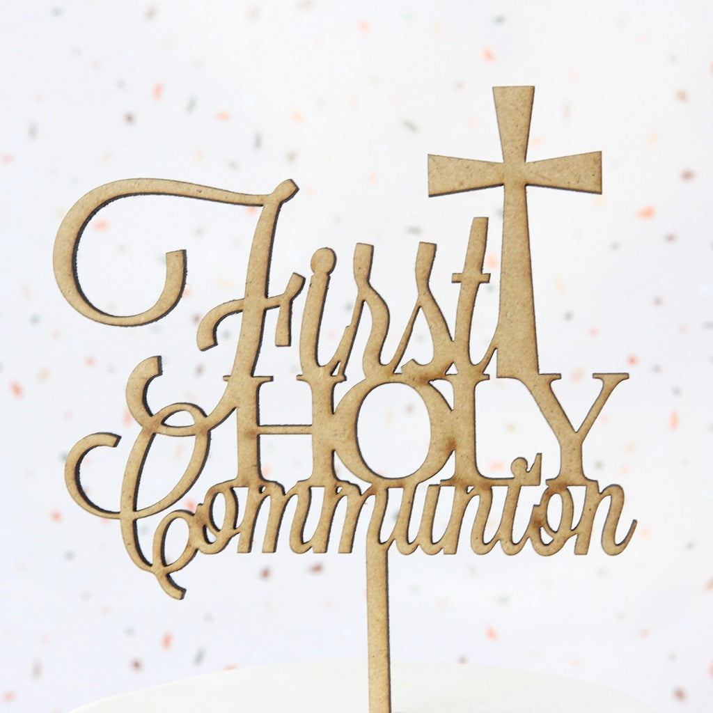 Communion Topper - Wood - Medium