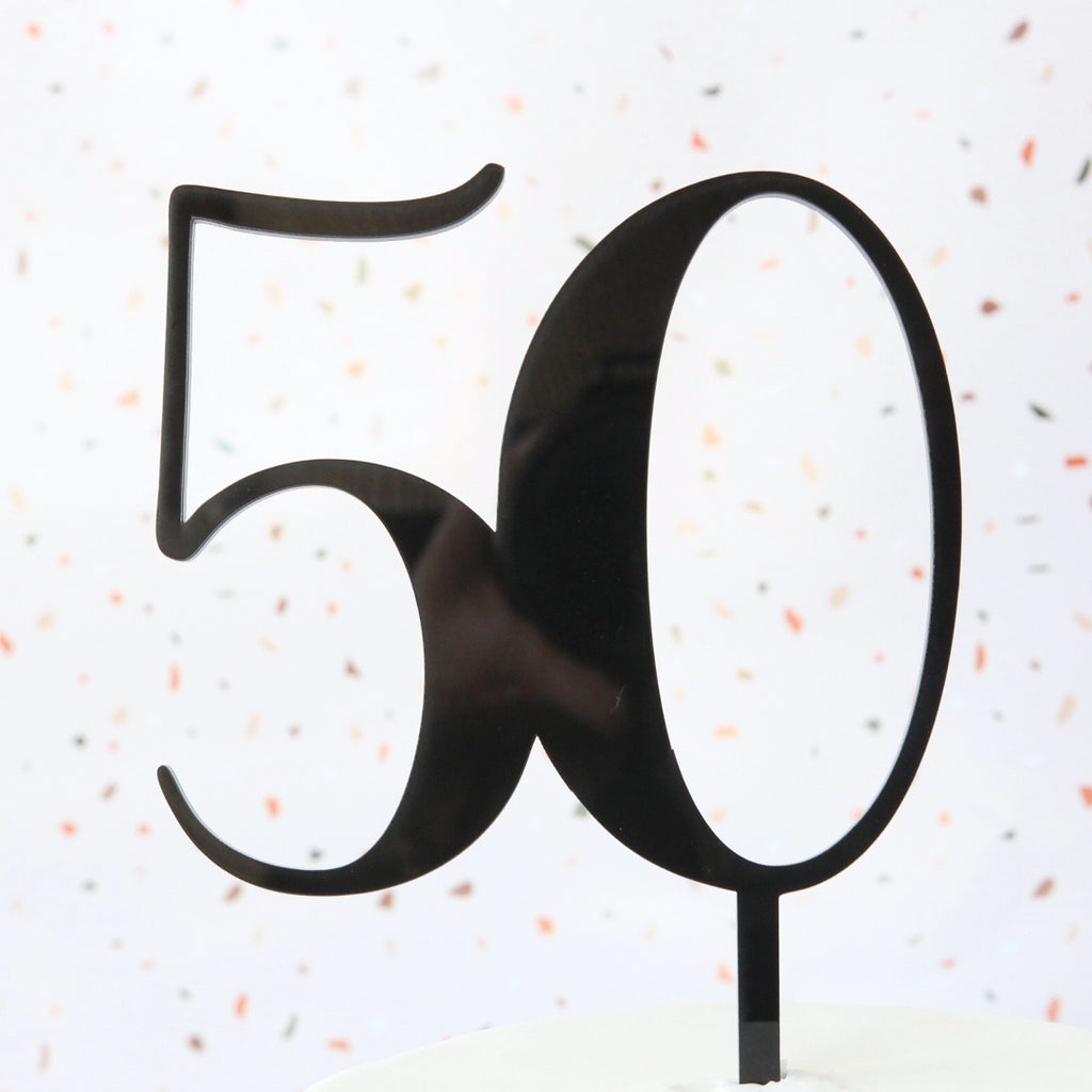 Number Topper 50 - Medium