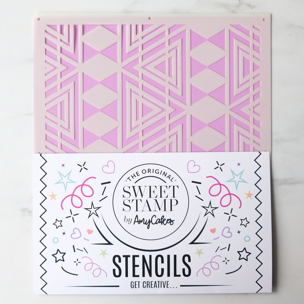 SweetStamp Stencil - Pattern 1