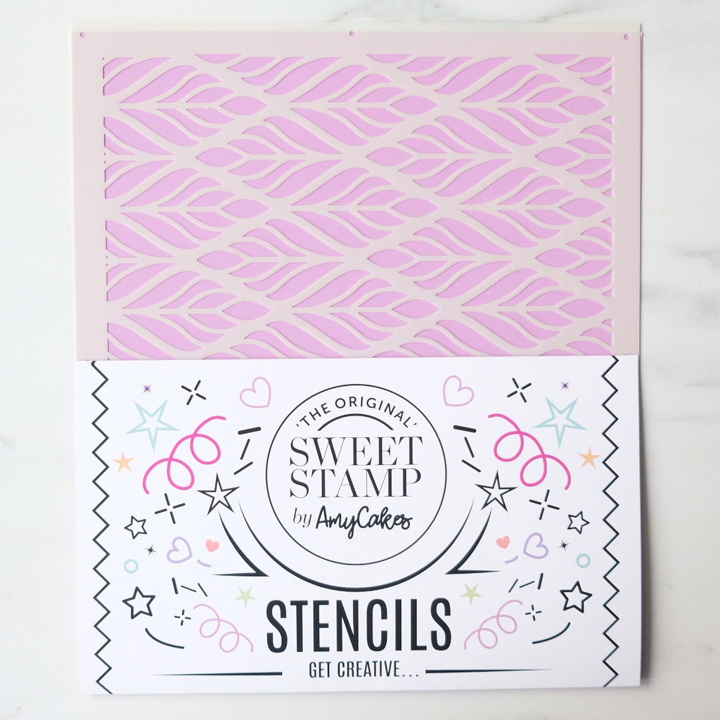 SweetStamp Stencil - Pattern 8