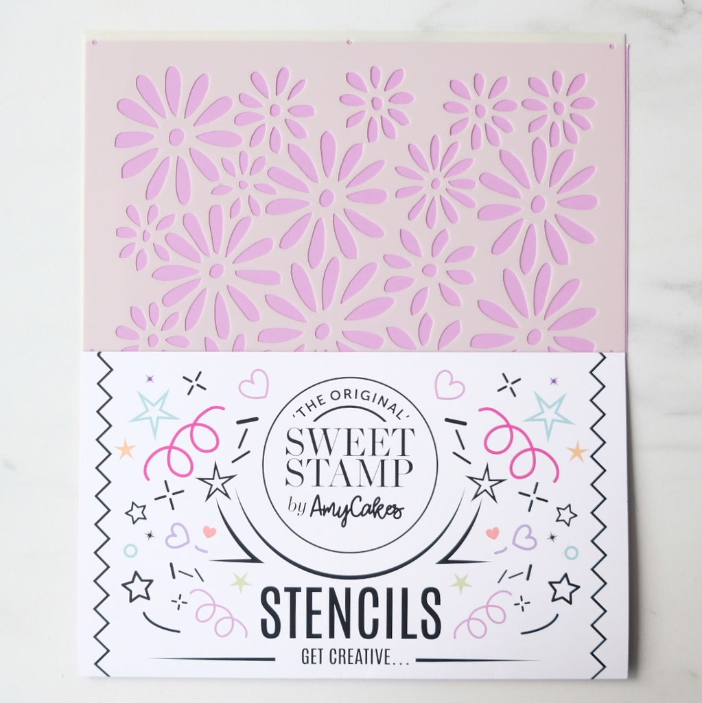 SweetStamp Stencil - Pattern 10