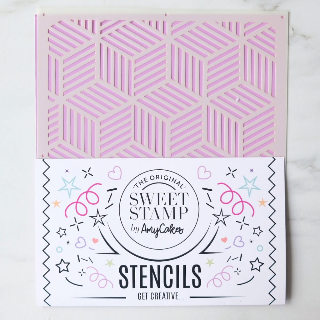 SweetStamp Stencil - Pattern 9