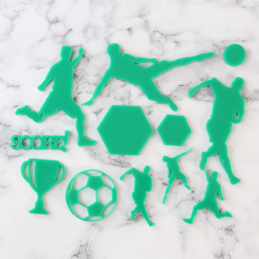 SWEET STAMP - SCORE! Soccer Elements