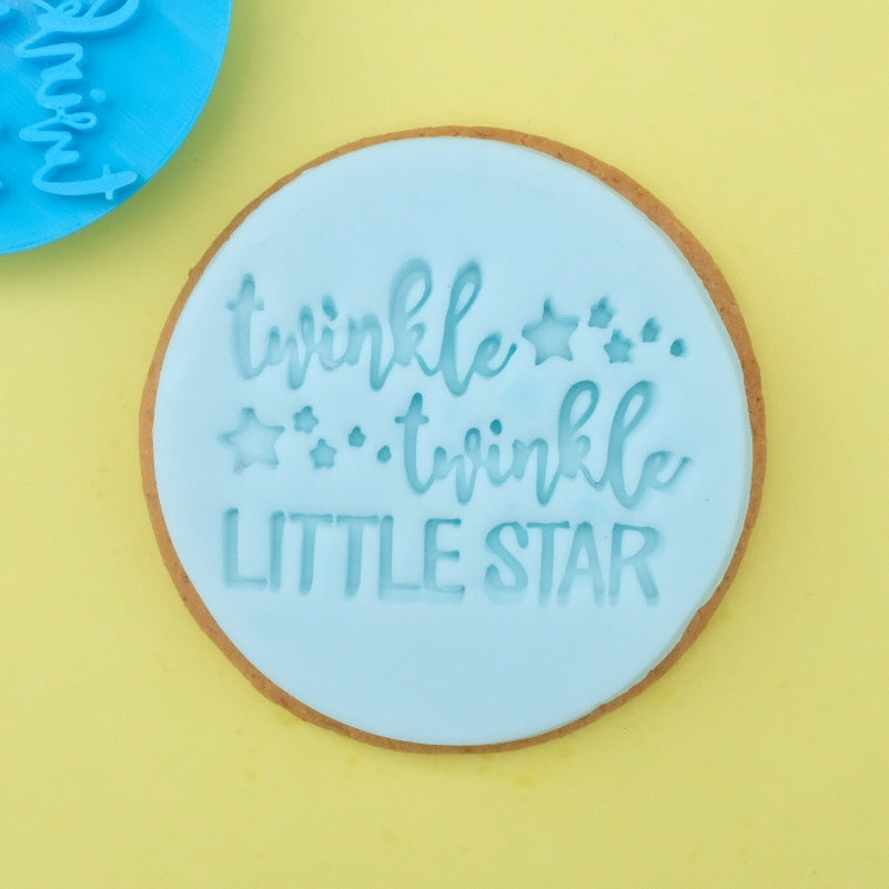 Twinkle Twinkle little star - Cookie/Cupcake Embosser