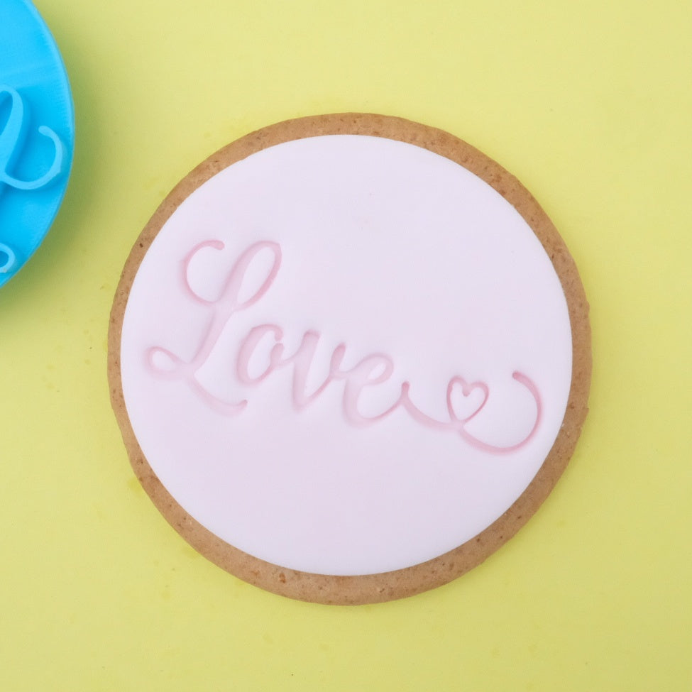 Love - Cookie/Cupcake Embosser