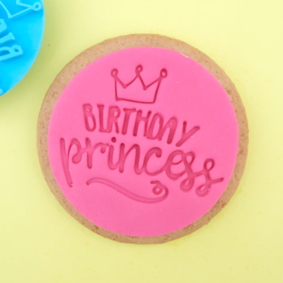 Birthday Princess - Cookie/Cupcake Embosser