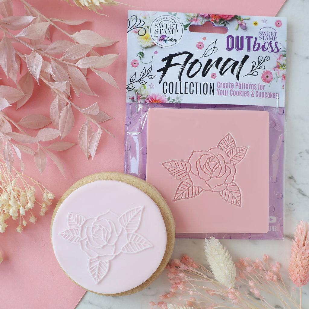 OUTboss Floral Collection - Romantic Rose