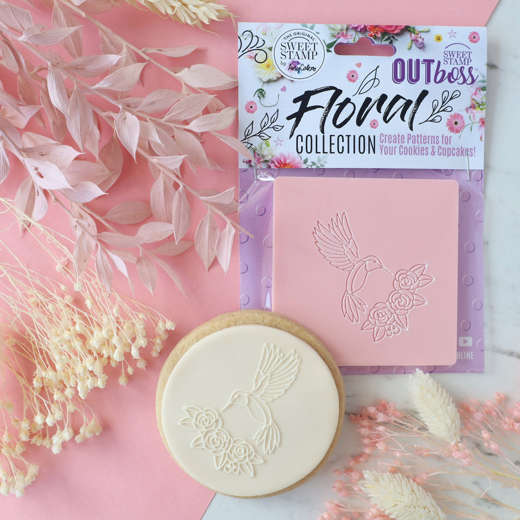 OUTboss Floral Collection - Floral Hummingbird