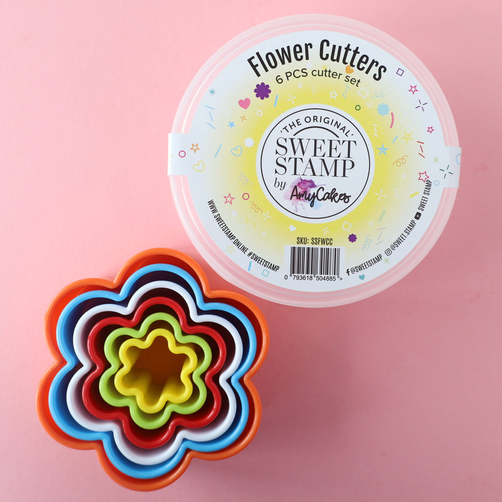 SweetStamp Cutters Set 6pcs - Flower