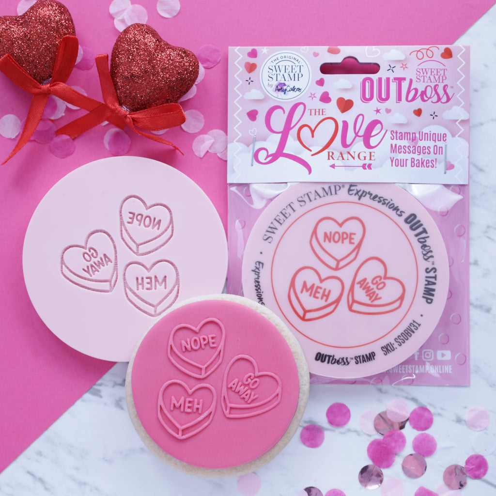 OUTboss Love - Funny Love Hearts