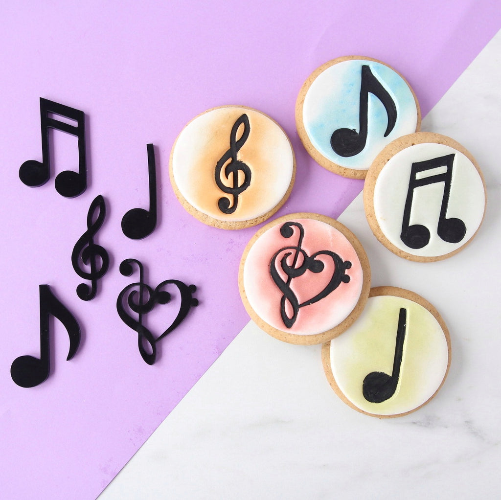 SWEET STAMP - Music Notes Elements