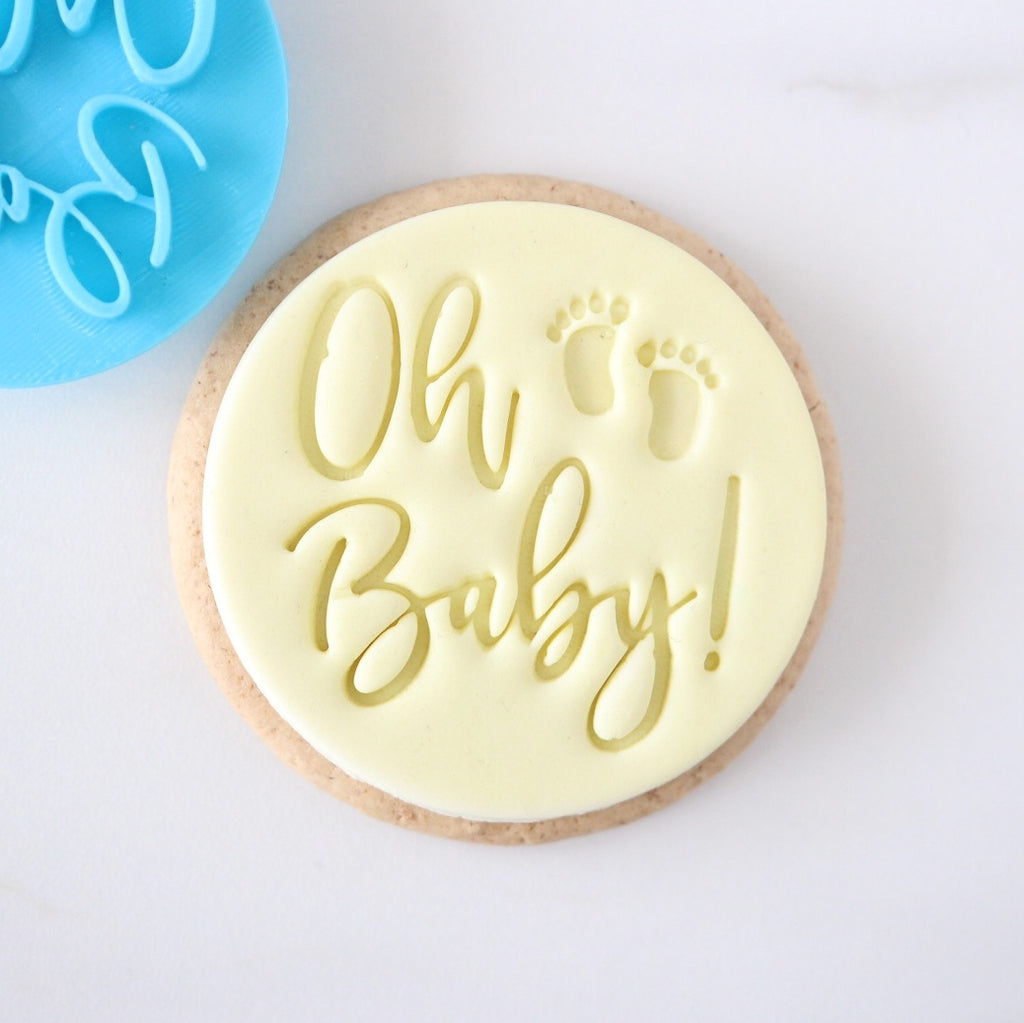Oh Baby- Cookie/Cupcake Embosser