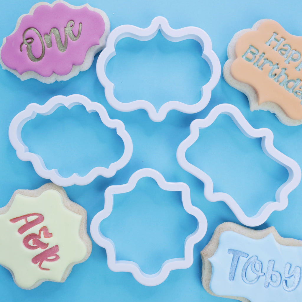 SWEETSTAMP - Plaque Cutters 4pcs