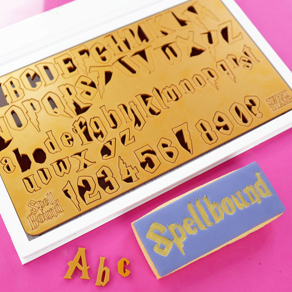 Sweet Stamp - MEDIUM SpellBound - Uppercase, Lowercase & Numbers