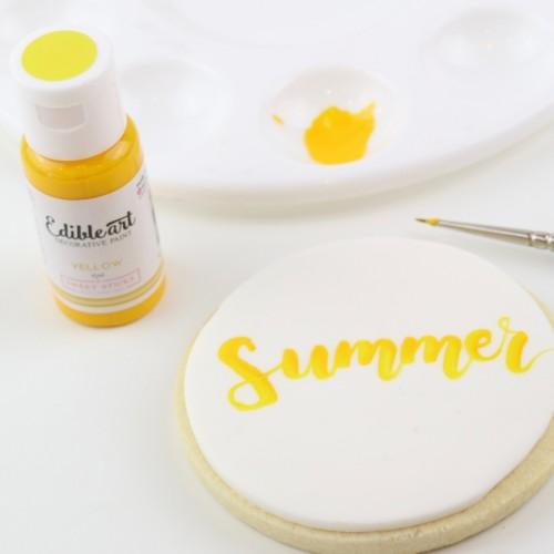 YELLOW - Edible Art Decorative Paint 15ml