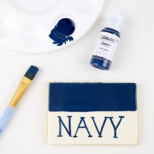 NAVY BLUE - Edible Art Decorative Paint 15ml