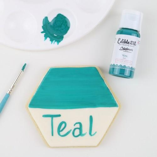 TEAL - Edible Art Decorative Paint 15ml