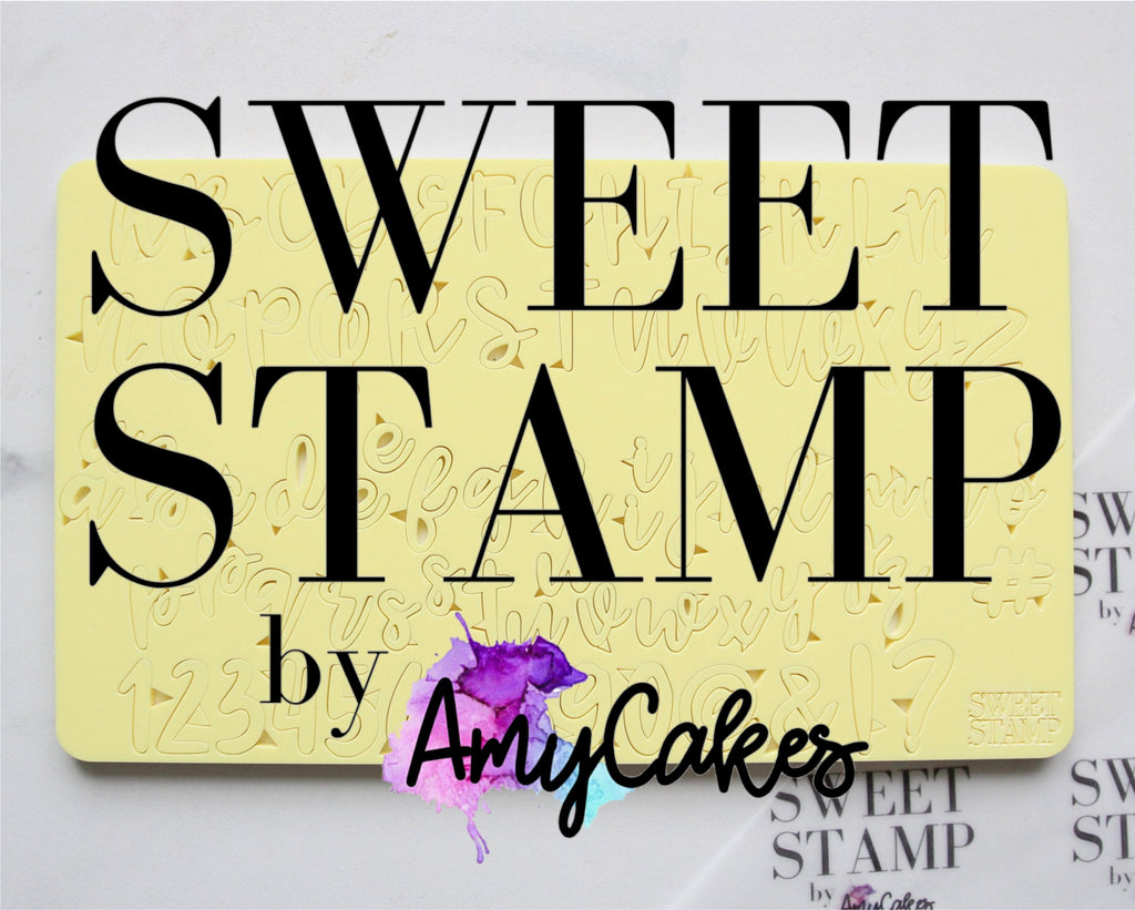 Sweet Stamp - COOKIE Set - Uppercase, Lowercase, numbers & Symbols
