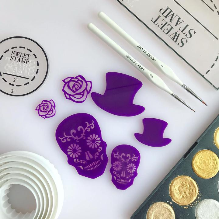 SWEET STAMP - Day of the Dead Elements