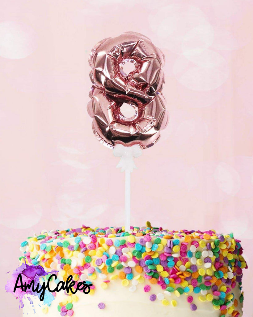 Foil Balloon - Rose Gold - 8