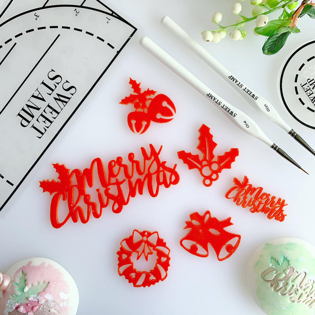 SWEET STAMP - Traditional Christmas Elements