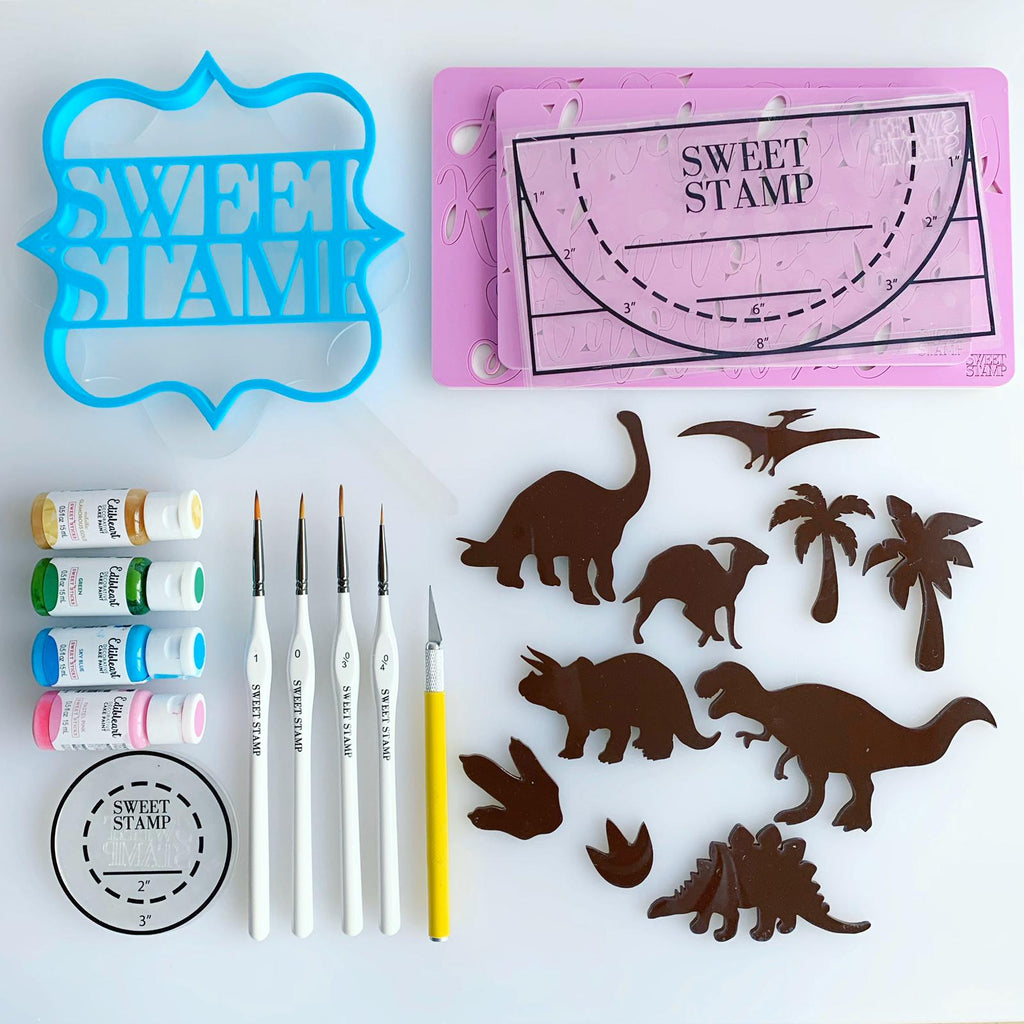 SWEET STAMP - Dinosaur Elements *Mega Set
