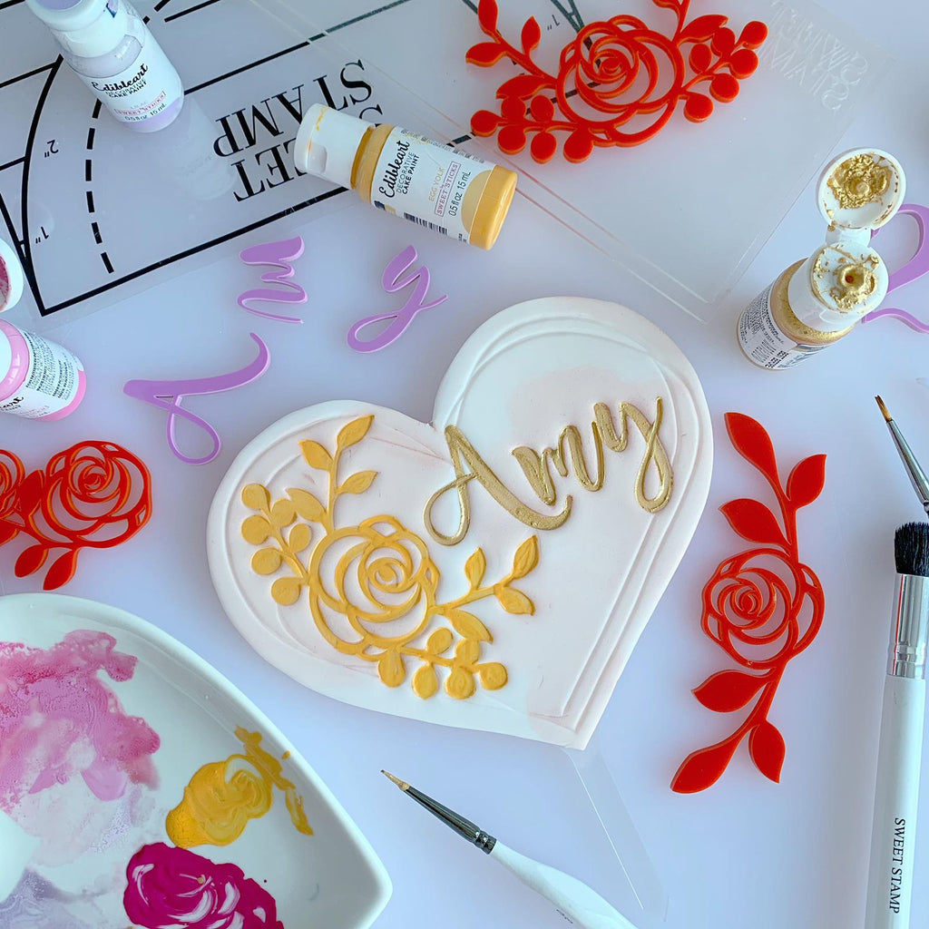 SWEET STAMP - Rose Frames Elements