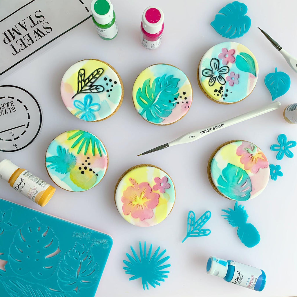NEW ** SWEET STAMP - TROPICAL VIBES Set by SweetBakes