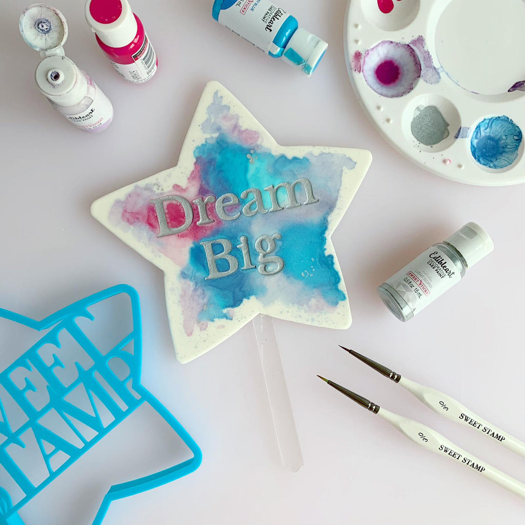 Blank Canvas by SweetStamp - Star Blank Topper