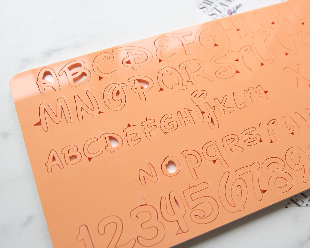 Sweet Stamp - MAGICAL Set - Uppercase, Lowercase, Numbers & Symbol