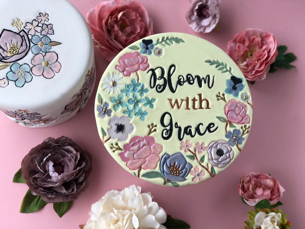 Sweet stamp - BOTANICAL DREAMS Set by The Caketress