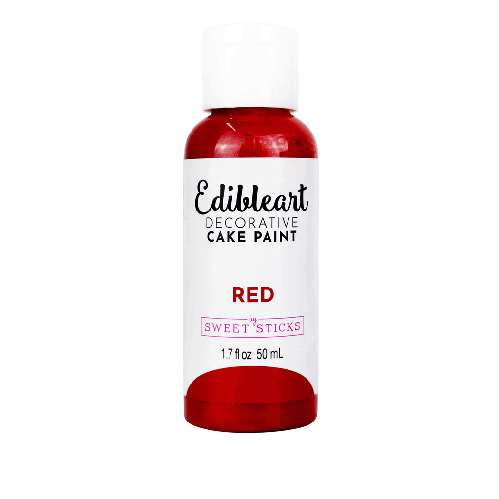 XL 50ml RED  - Edible Art Decorative Paint (50ml)